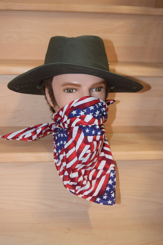 Bandana Biker foulard Drapeaux USA