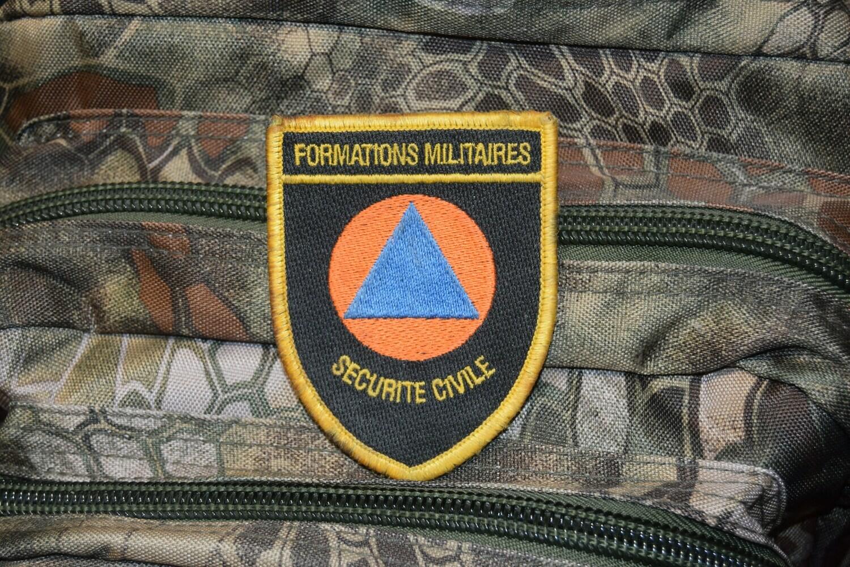 Patch Formation Militaire Sécurité Civile
