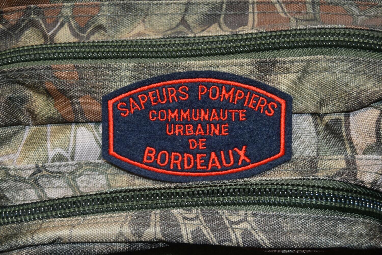 Patch Sapeurs Pompiers Communauté Urbaine de Bordeaux
