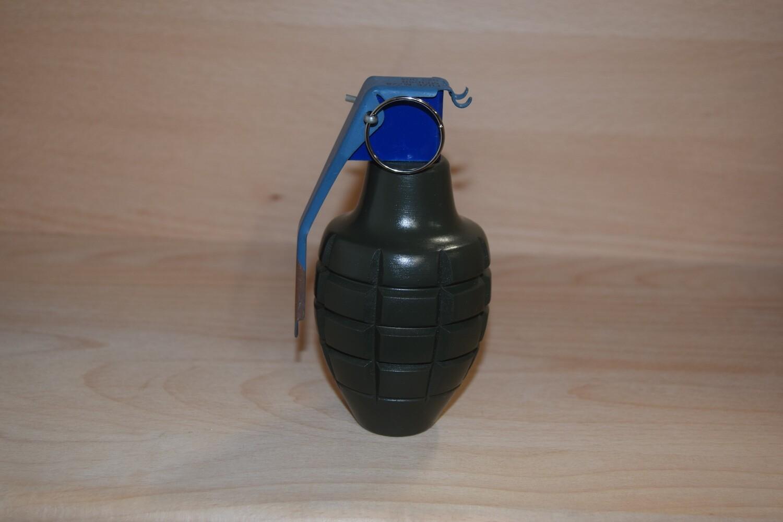 Reproduction Grenade à main Américaine MK 2 Kaki bois décoration