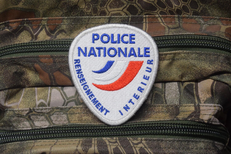 Patch Police Nationale Renseignement Intérieur les RG