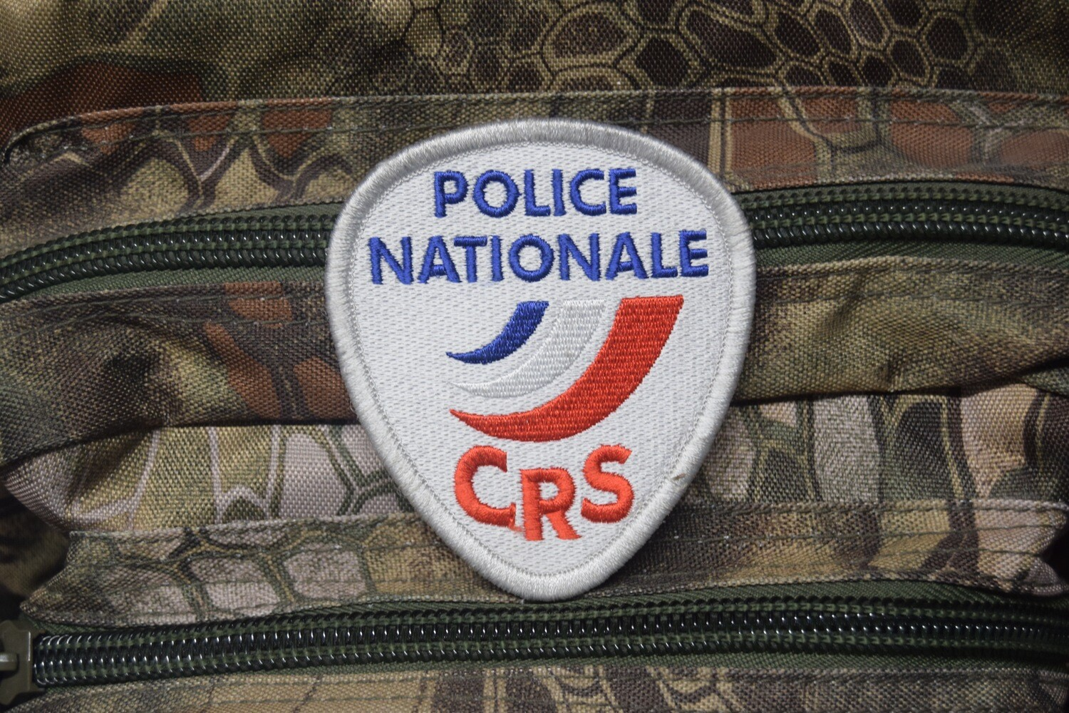 Patch Police Nationale CRS