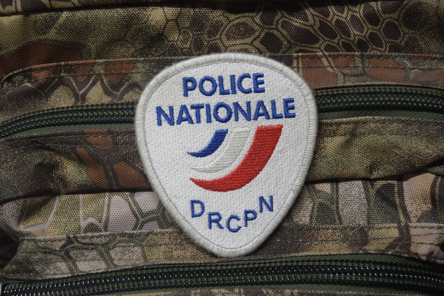 Patch Police Nationale DRCPN