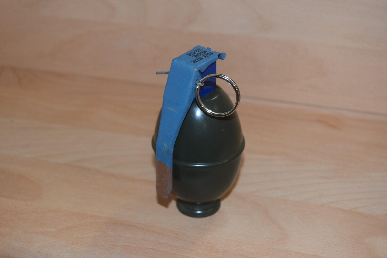 Reproduction Grenade à main Américaine M61 Kaki bois décoration