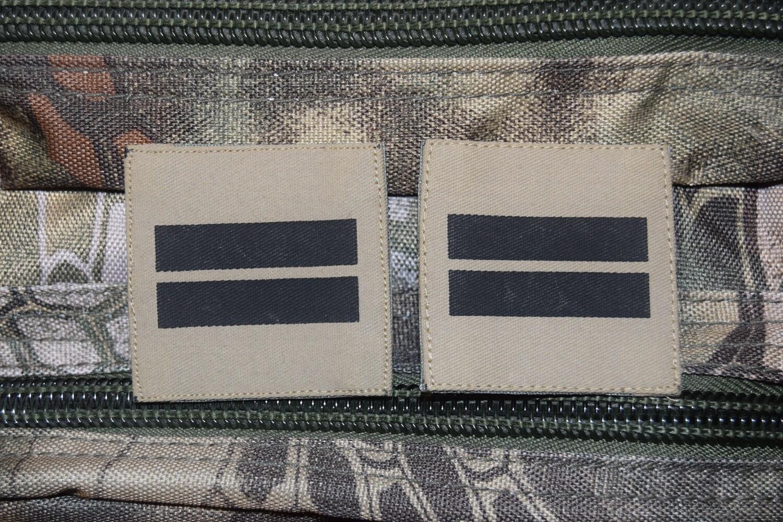 Grades militaires basse visibilité Lieutenant