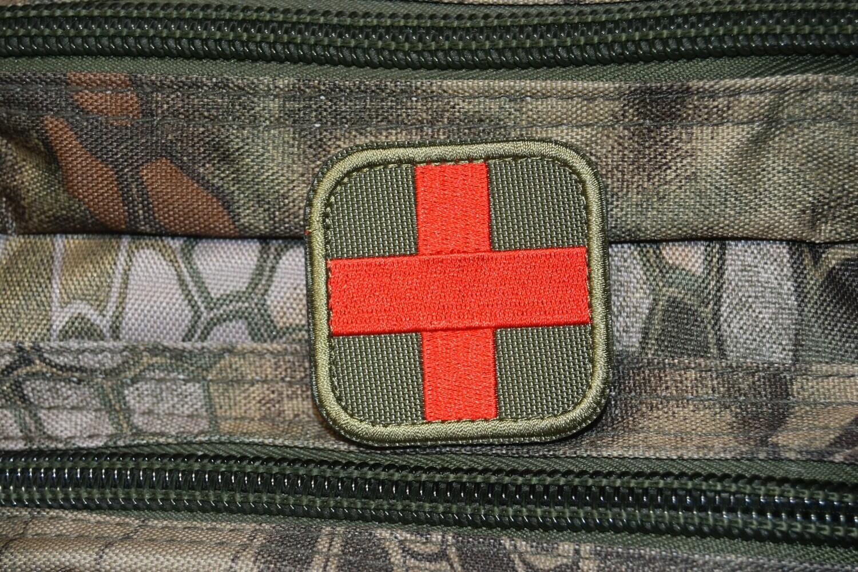 Grade militaire KAKI MEDIC MED Secouriste Airsoft