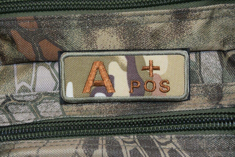Groupe sanguin militaire Airsoft A POSITIF A+