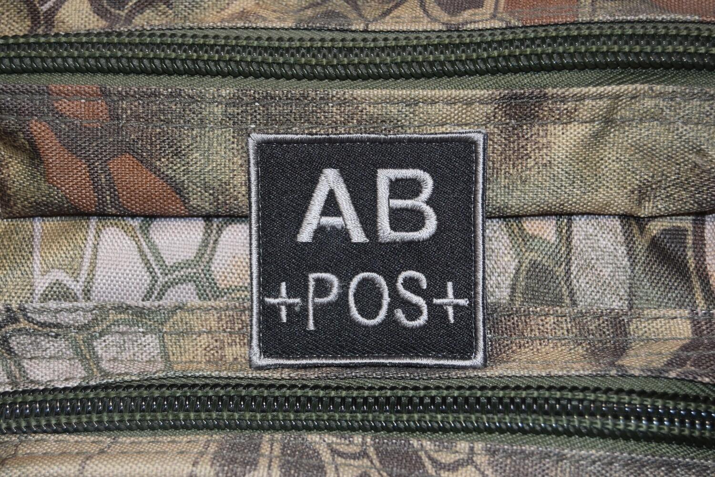 Groupe sanguin militaire Airsoft AB POSITIF AB+