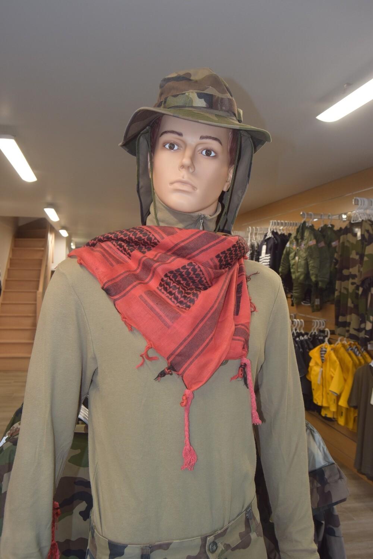 Shemagh foulard écharpe keffieh Rouge