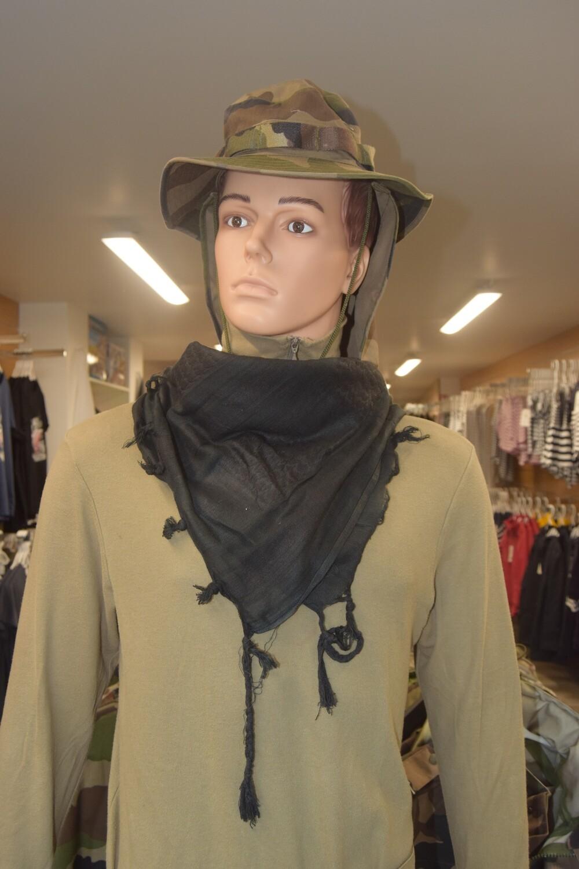 Shemagh foulard écharpe keffieh Noir