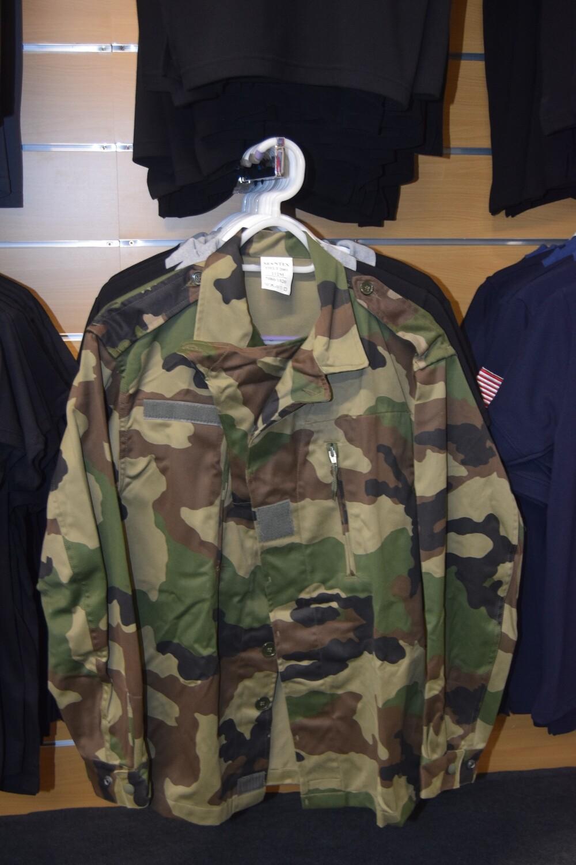 Veste de treillis militaire F2 Armée Française Taille XL