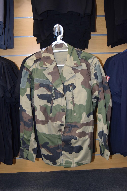 Veste de treillis militaire F2 Armée Française Taille M