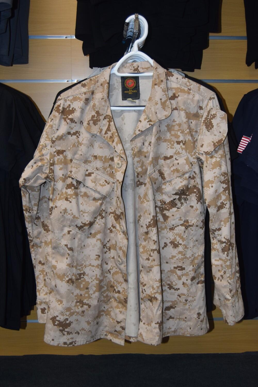 Veste de treillis militaire US MARINES NAVY USMC Taille S