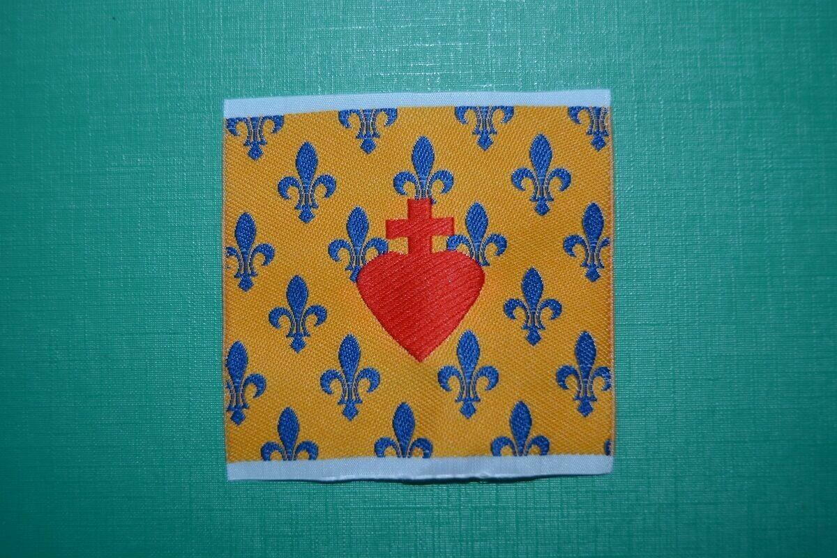 Insigne Sacré Cœur de Jésus Royaliste