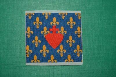 Insigne Royaliste Sacré Cœur de Jésus