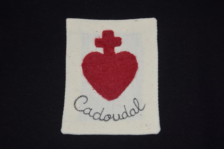 Insigne Scapulaire Sacré Cœur Vendéen Cadoudal