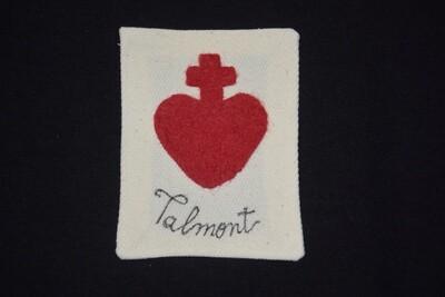 Insigne Scapulaire Sacré Cœur Vendéen Talmont