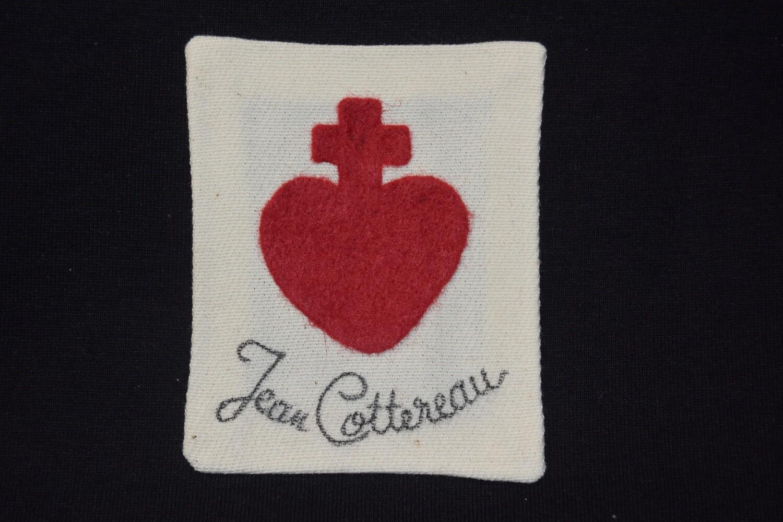 Insigne Scapulaire Sacré Cœur Vendéen Jean Cottereau