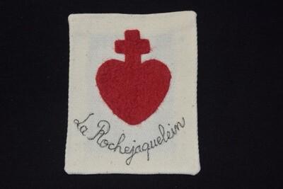 Insigne Scapulaire Sacré Cœur Vendéen de La Rochejaquelein