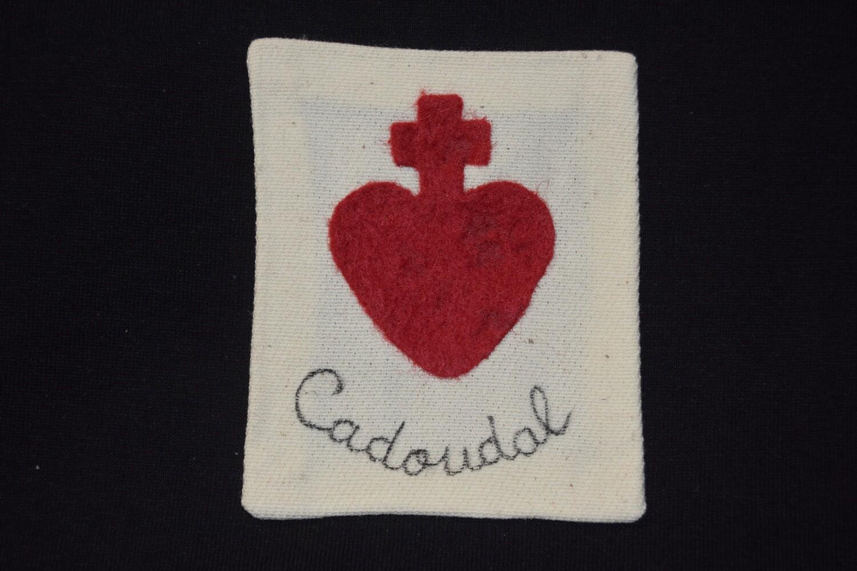 Insigne Scapulaire Sacré Cœur Vendéen Georges Cadoudal