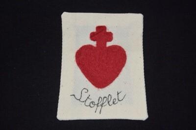 Insigne Scapulaire Sacré Cœur Vendéen Jean-Nicolas Stofflet