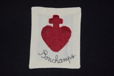 Insigne Scapulaire Sacré Cœur Vendéen Charles de Bonchamps