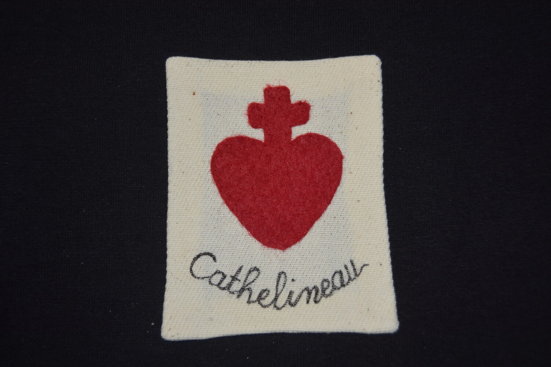 Insigne Scapulaire Sacré Cœur Vendéen Jacques Cathelineau