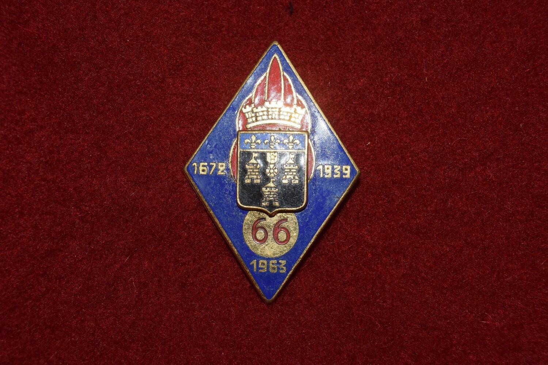 Insigne militaire 66e régiment d'infanterie