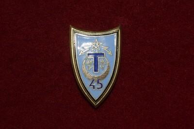 Insigne militaire 45e Régiment de Transmissions