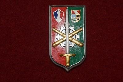 Insigne militaire Commandement et Direction du Matériel 2e Corps d'Armée FFA