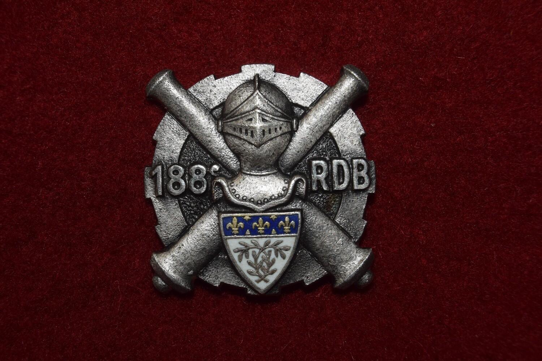 Insigne militaire 188e Compagnie de Réparation Divisionnaire Blindée