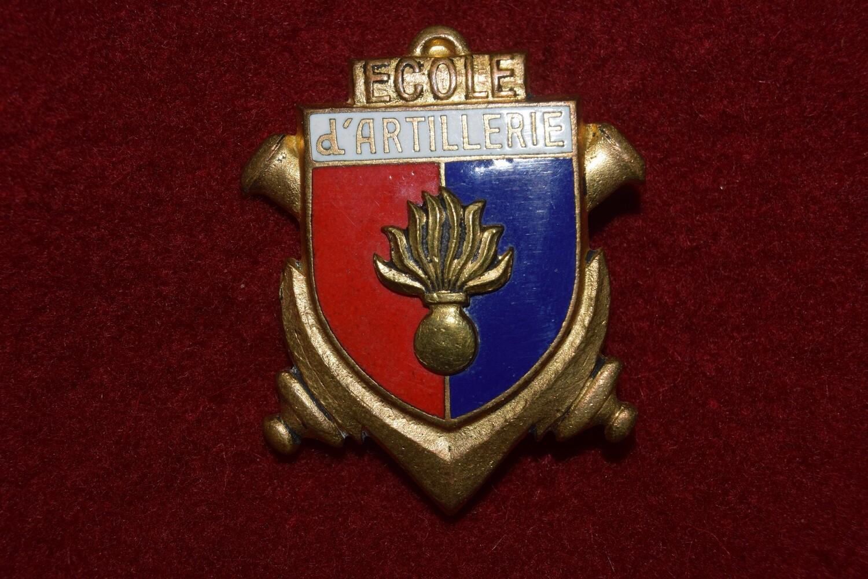 Insigne militaire École d'Artillerie
