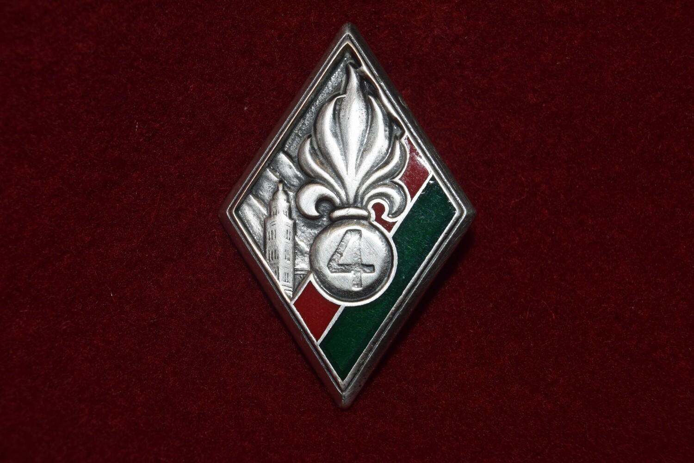 Insigne militaire 4e REI Régiment étranger Légion étrangère