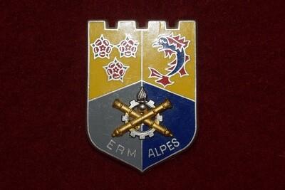 Insigne militaire Établissement Régional du Matériel ALPES