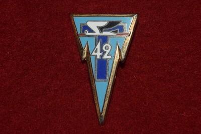 Insigne militaire 42e Régiment des Transmissions 42e RT