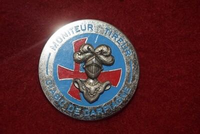 Insigne militaire Brevet ABC Moniteur Tireur CIABC de Carpiagne