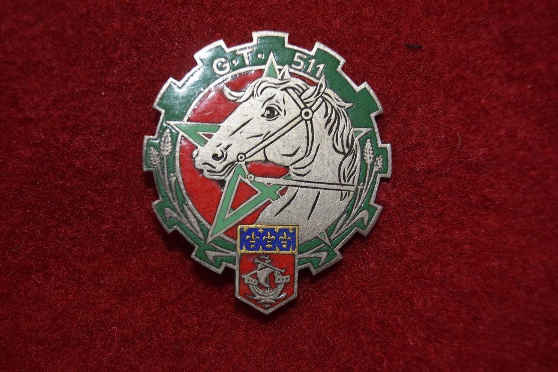 Insigne militaire 511e Groupe Transport Régiment du TRAIN