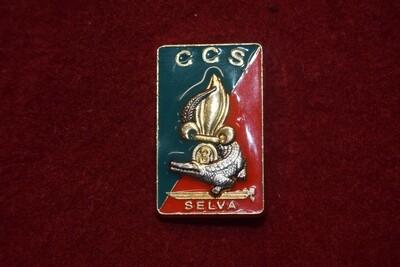 Insigne militaire Légion SELVA 3e REI CCS Compagnie de Commandement et de Soutien