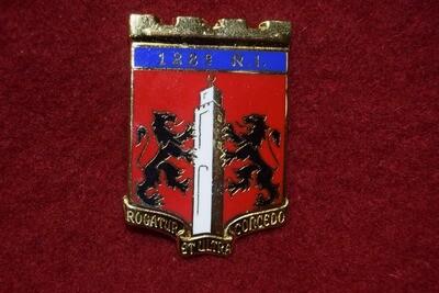 Insigne militaire 128e Régiment d' Infanterie 128e RI