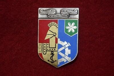 Insigne militaire Direction de l'Infrastructure et du Matériel en Polynésie Française
