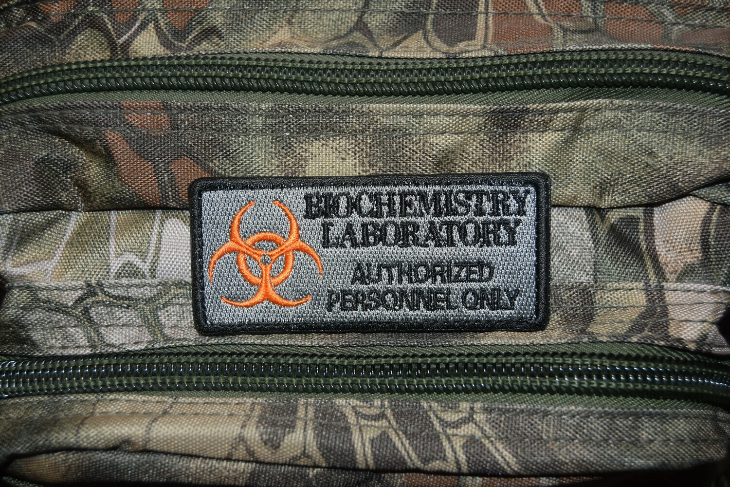 Patch BIOCHEMISTRY LABORATORY AUTHORIZED PERSONNEL ONLY