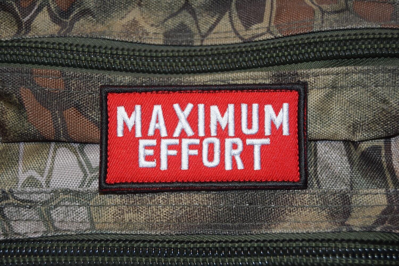 Patch MAXIMUM EFFORT Maximum Effort Deadpool