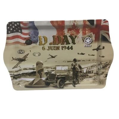 Plateau souvenir D-Day 6 Juin 1944 Jeep