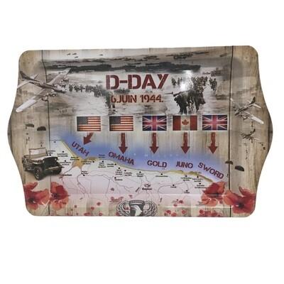 Plateau souvenir D-Day 6 Juin 1944 Plages du débarquement