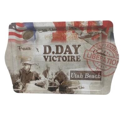 Plateau souvenir D-Day 6 Juin 1944 Victoire
