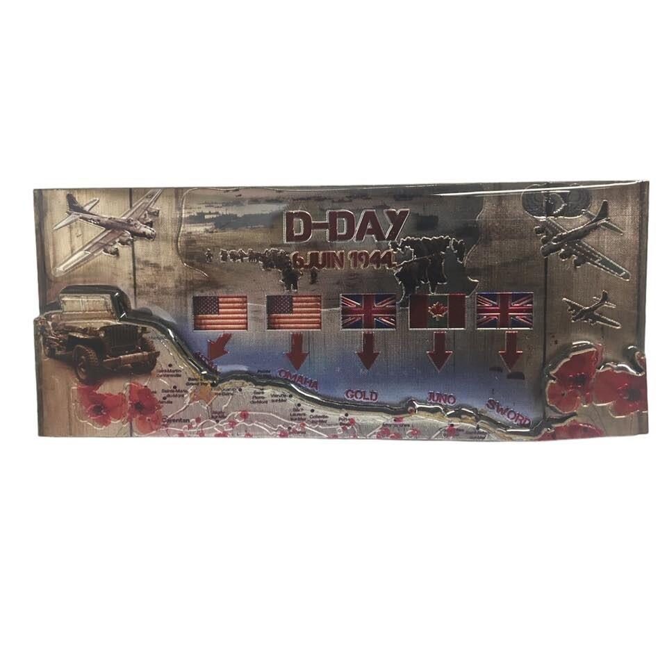 Magnet D-DAY 6 Juin 1944 Normandie plages du débarquement