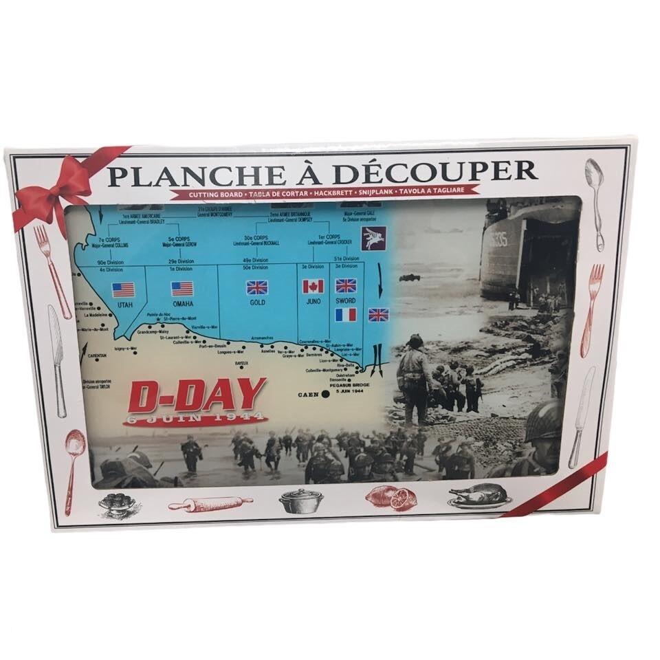 Planche à découper 20X30 cm D-day 6 Juin 1944