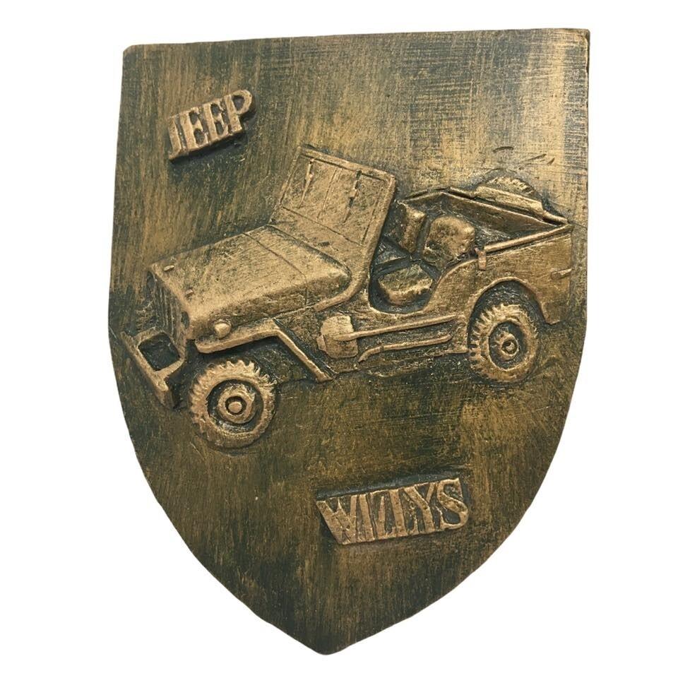 Blason Jeep Willys WW2 Seconde Guerre Mondiale