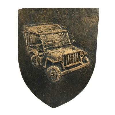 Blason Jeep Willys Seconde Guerre Mondiale ww2