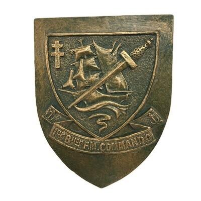 Blason du Commandos Kieffer 1ᵉʳ bataillon de Fusiliers Marins Commandos